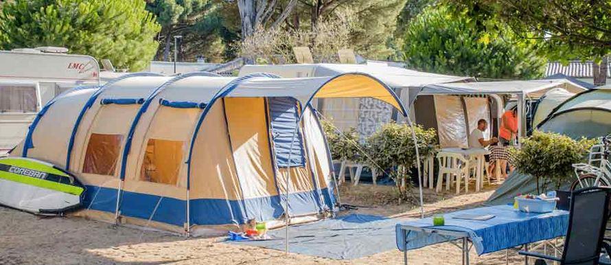camping a la campagne